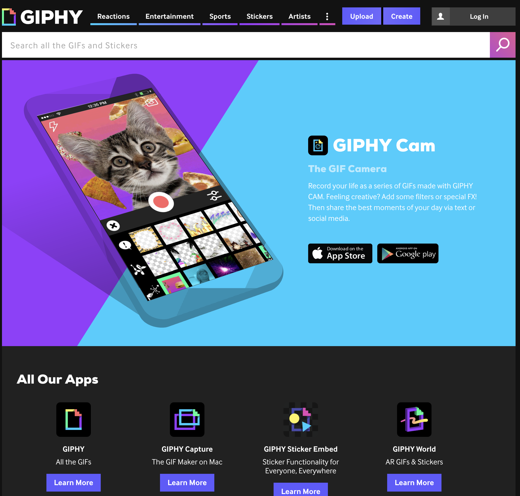 giphy cam app