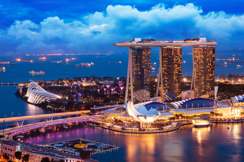 richest country Singapore