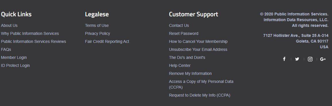 How to Cancel Publicinfoservices.com