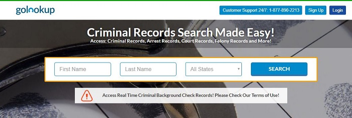 What is a Criminal Background Check - golookup's criminal records search