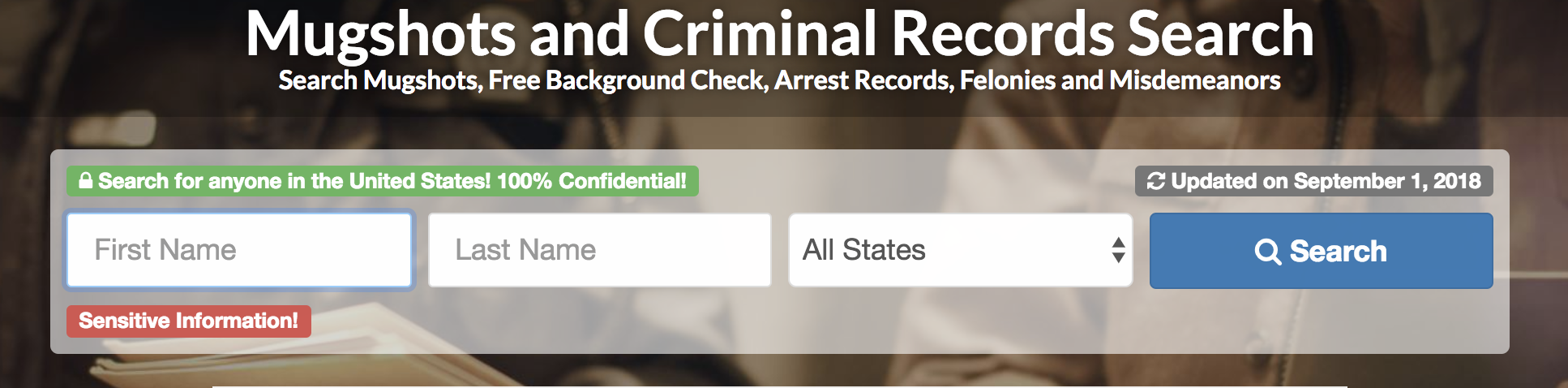 Online Mugshot Search, How to Find Mugshots Online