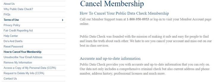 Public Data Check Cancel