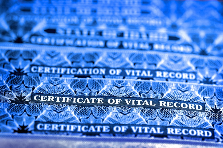 Oregon Vital Records