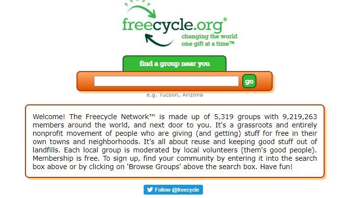 Freecycle app