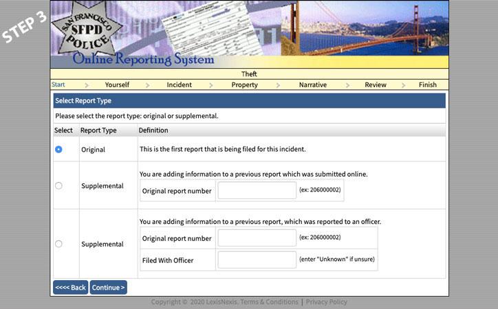 police report online