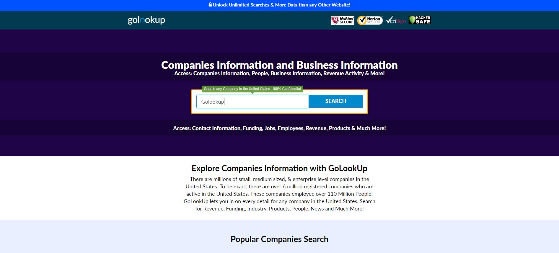 companies information