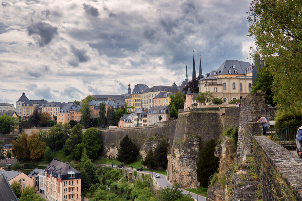 richest country Luxembourg