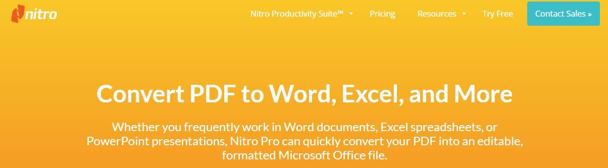 Best Free PDF to Word Converter, PDF to Word