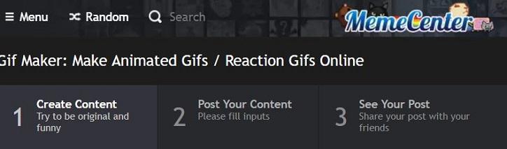 MemeCenter GIF maker