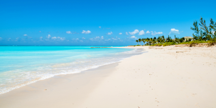famous beaches in the world -Parrot Cay, Turks and Caicos