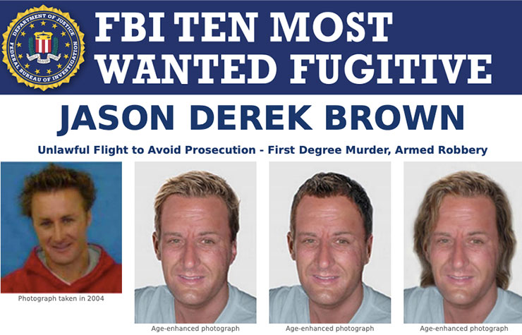FBI Most Wanted Jason Derek Brown