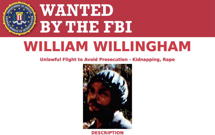 Most Wanted Fugitives by the FBI William Willingham