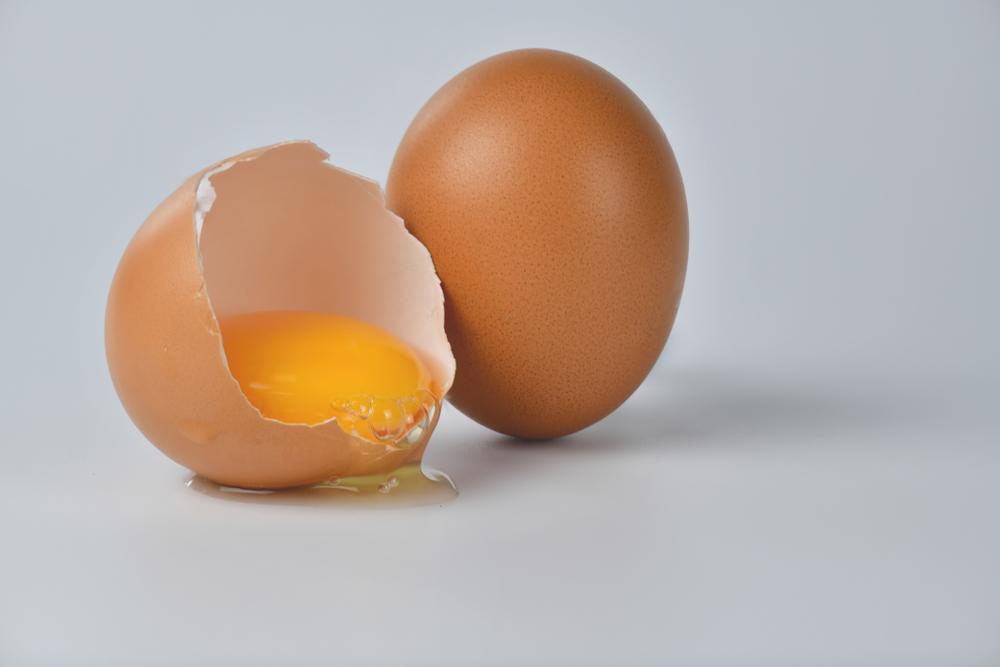 Eggs. High Fat Food