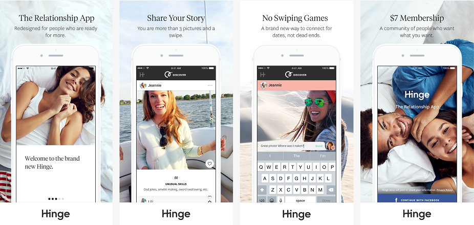 Hinge best dating apps