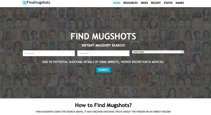 Find My Mugshot Online