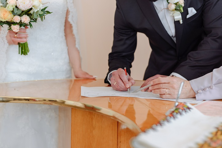 New Jersey Marriage License