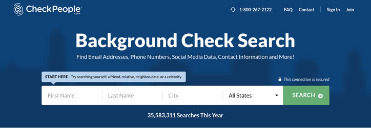 Check People Background Check