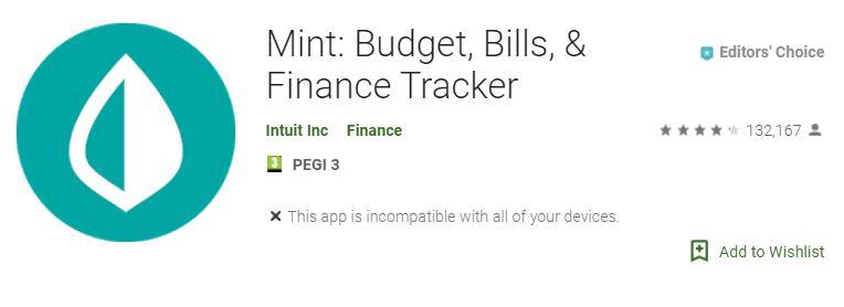 Mint app