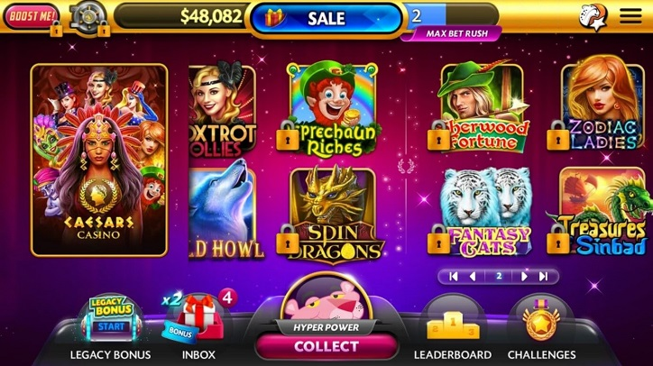 Caesars Slots Reviews