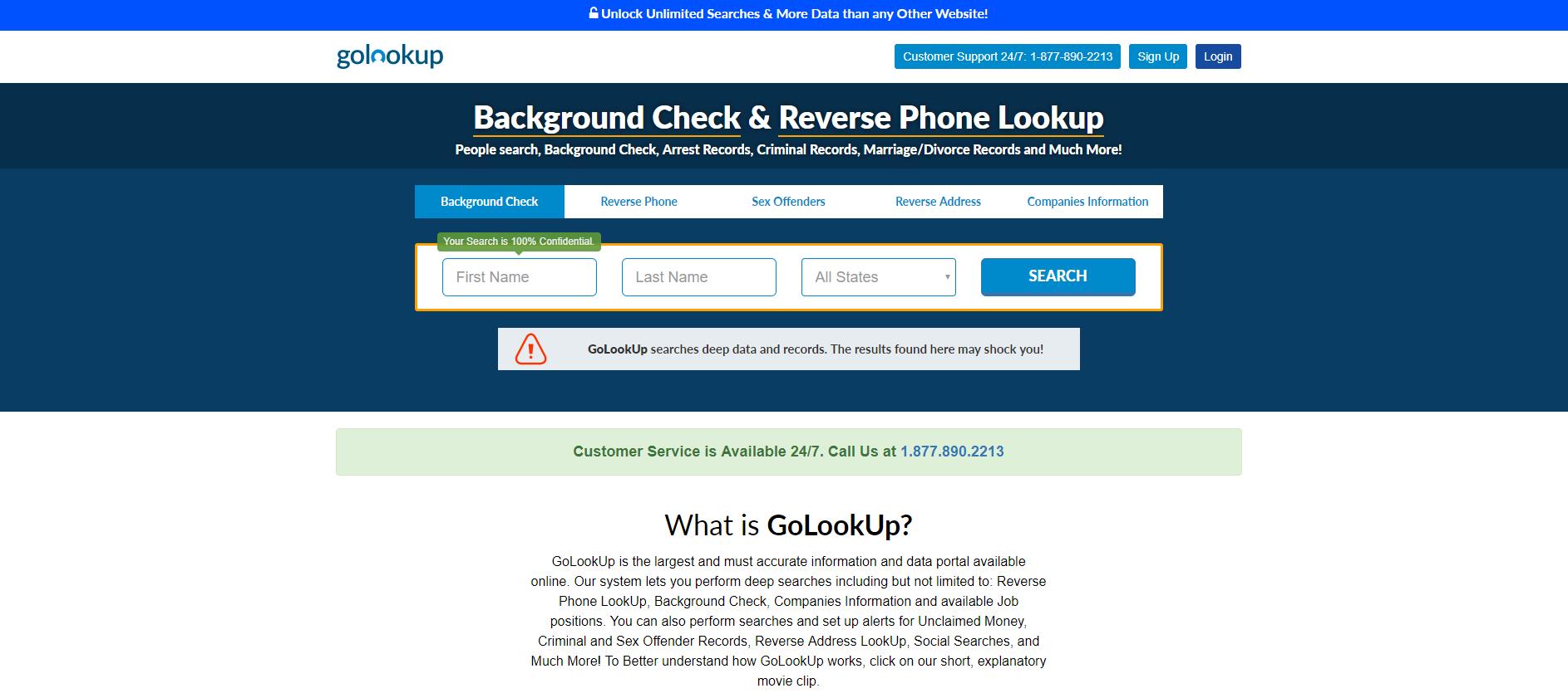 companies golookup