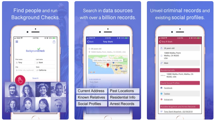 best apps on iOS for arrest records
