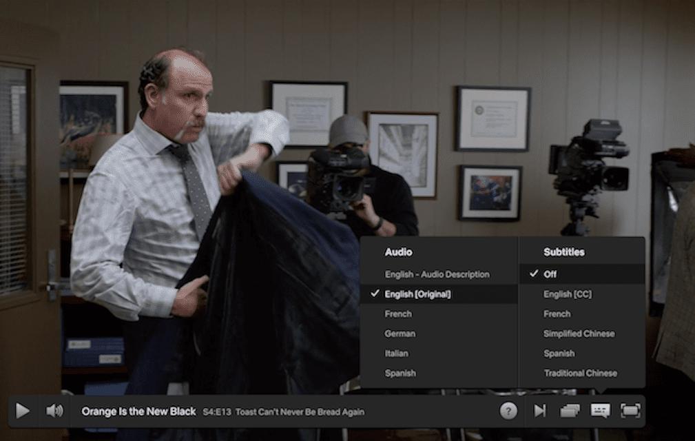 Netflix Subtitles Turn Off