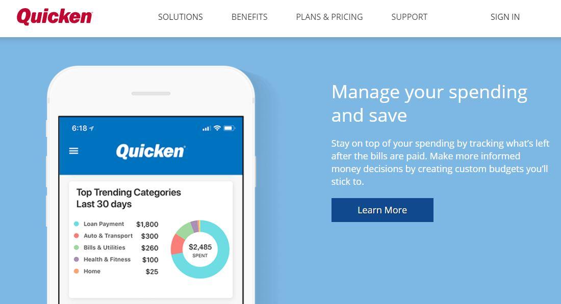 Quicken Finance App Review