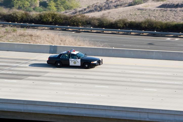 LA Car Chase