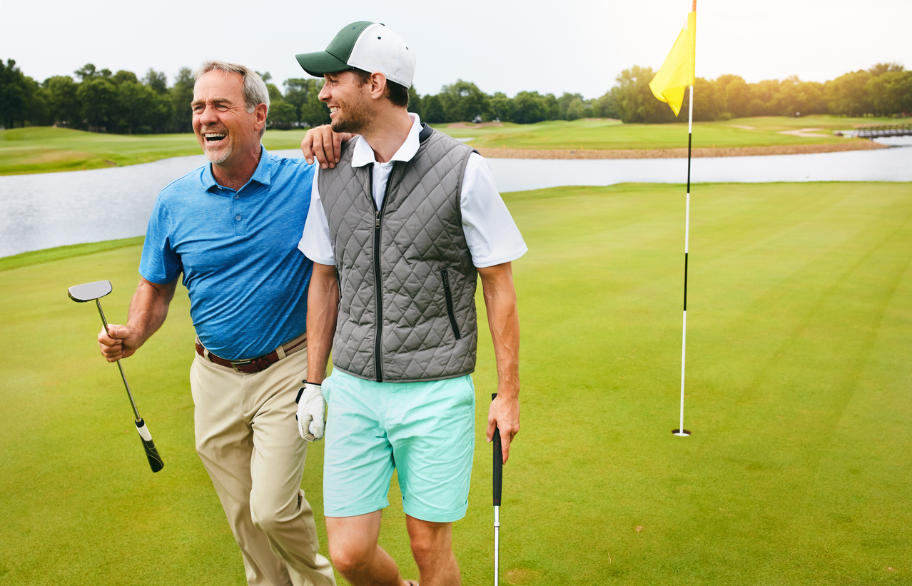 how to relax with sports golf