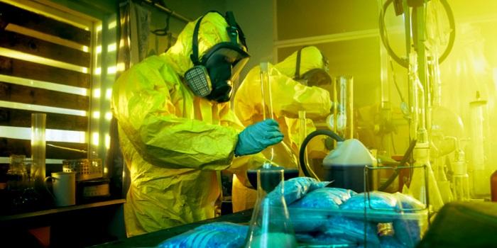 a meth lab