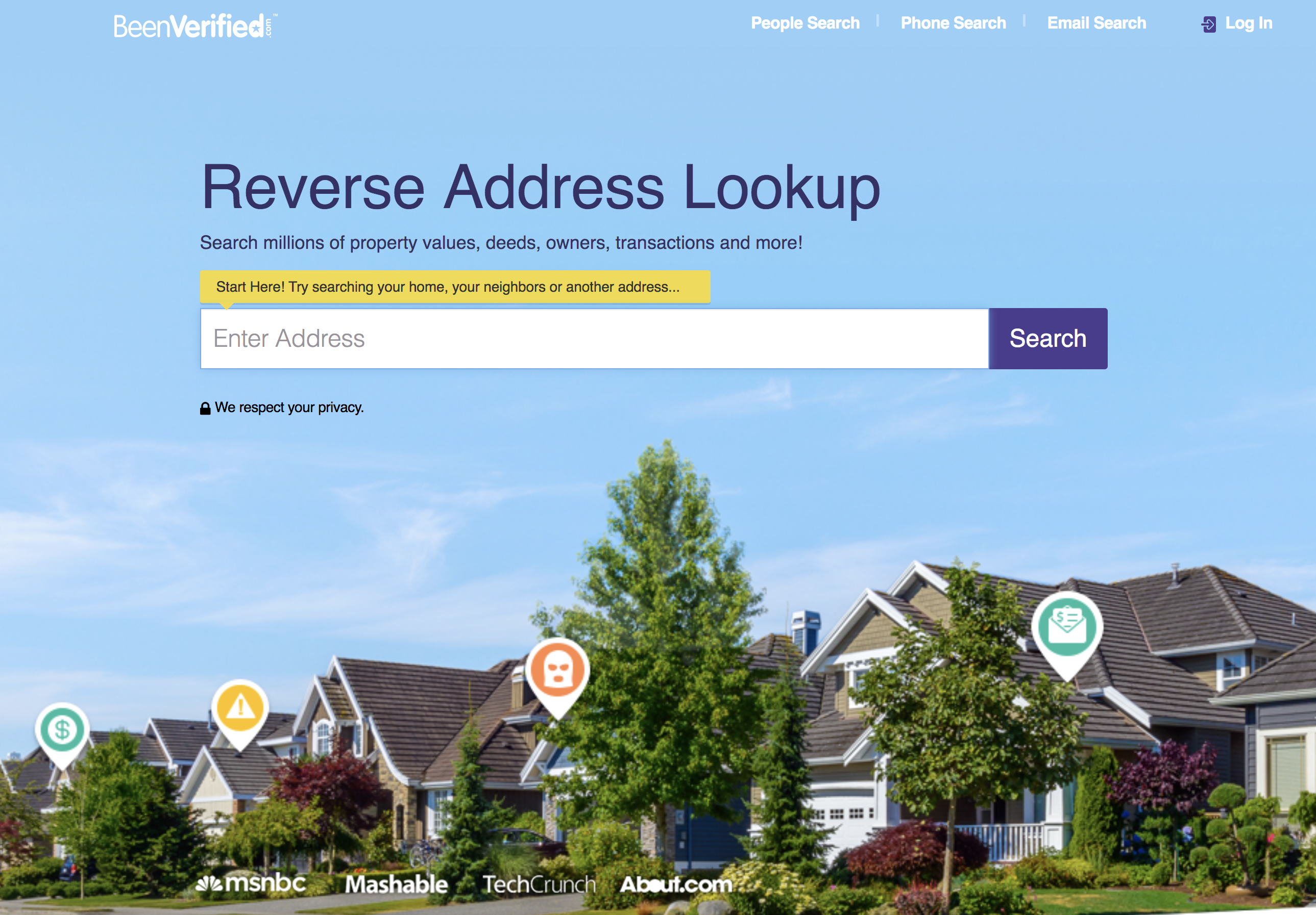 beenverified reverse address lookup