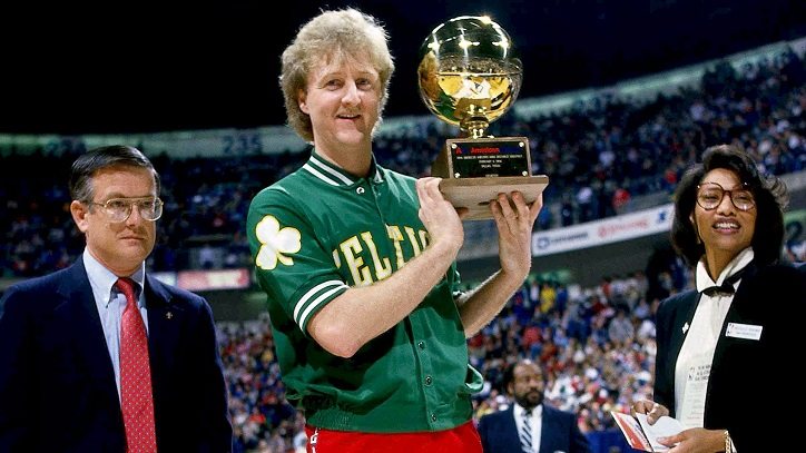 Larry Bird Background Check