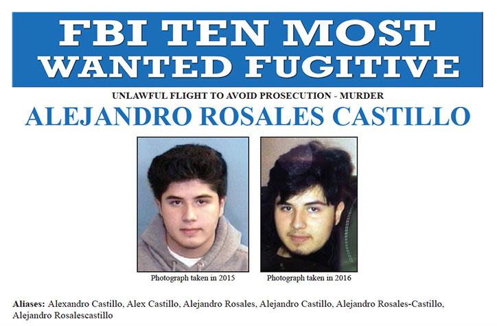 FBI Most Wanted ALEJANDRO ROSALES CASTILLO