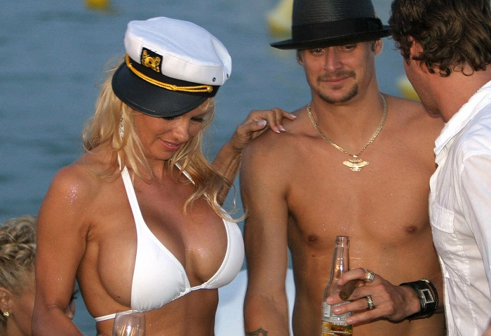 short celeb marriages - Pamela Anderson and Kid Rock
