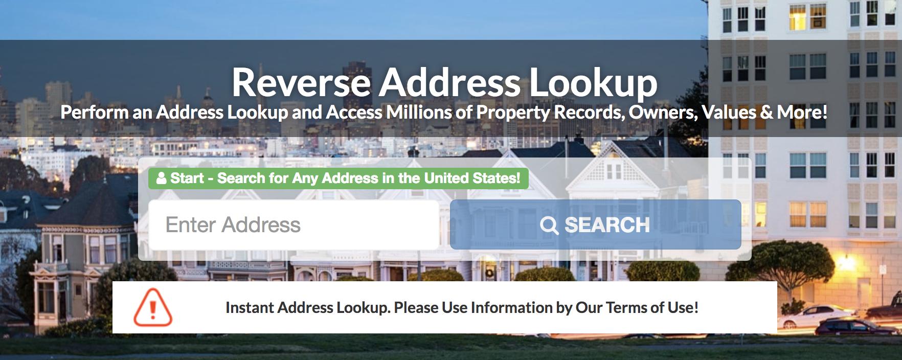 find someone address