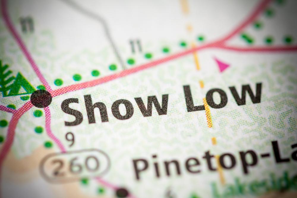 show low arizona public records
