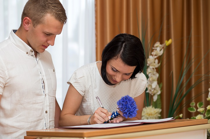 Massachusetts Marriage License