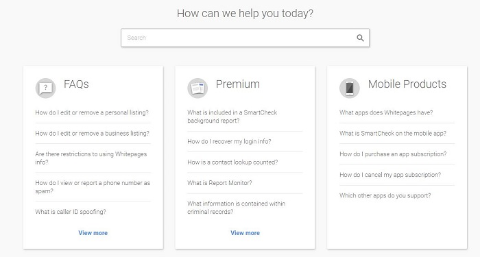 How to Cancel WhitePages