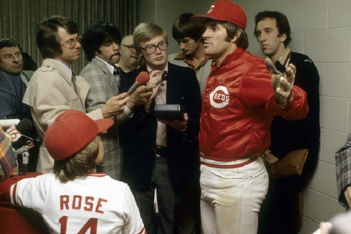 Pete Rose Police Records